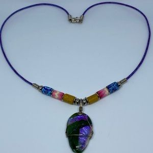 Other - Pretty colorful necklace